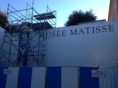 Rénovation Musee Matisse, Nice